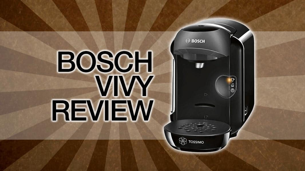 Bosch Tassimo Vivy Coffee Machine Review Cleverhabcouk