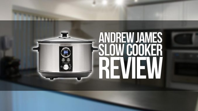 Andrew James Sizzle To Simmer Slow Cooker Review Cleverhab